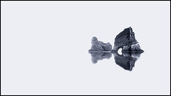 Archway Islands Abstract (d_willing) Tags: sea newzealand panorama white abstract black beach nature landscape islands coast different pano national southisland coastline archway geographic wharariki