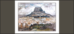 MORELLA-PINTURA-PAISATGES-MAESTRAT-CASTELL-MAESTRAZGO-CASTELLON-PINTURAS-ACUARELAS-GOUACHE-ARTISTA-PINTOR-ERNEST DESCALS (Ernest Descals) Tags: espaa paisajes art history valencia watercolor painting landscape spain artwork paint arte landscaping paintings paisaje nubes painter walls acuarela casas castillo historia painters pintor pintura pintores pintar cuadros pinturas tempera castellon aquarella cuadro pintures paisatges acuarelas quadres pintando morella castell murallas plastica muralles comunidadvalenciana historicas maestrat nublados historicos picyures comunitatvalenciana maestrazgo plasticos monta pintors paisajista couache paisajistas ernestdescals