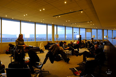 Inside the lounge (A. Wee) Tags: toronto canada airport lounge mapleleaf yyz aircanada