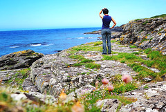 160531 Where's the Basking Sharks? (Fob) Tags: may 2016 travel trip europe uk isleofman niarbyl iom people me selfportrait