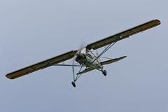 Fieseler Fi156C-3 Storch - 6 (NickJ 1972) Tags: les la aviation airshow temps storch 2016 alais helices ferte fieseler fi156 fazra 2era