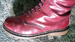 20160523_092754 (rugby#9) Tags: original feet yellow cherry boot hole boots lace dr air 14 7 indoor icon wear size stitching comfort sole doc 1914 cushion soles dm docs eyelets drmartens bouncing airwair docmartens martens dms cushioned wair doctormarten 14hole yellowstitching