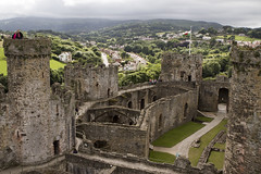 20160616-UK Trip-Conwy Castle-0035 (kuminiac) Tags: 2016 wales conwy castle conwy castle towers dungeons tower dungeon fortress town walls royal royals king edward i longshanks medieval snowdonia cymru knights scenery uk united kingdom