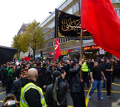 Holding Red Flag (Kombizz) Tags: uk people london justice holding massacre muslim islam faith religion crowd battle tragedy shia muharram ashura hydepark karbala edgwareroad marblearch tyranny redflag umayyad martyrdom caliph mourners yazid prophetmuhammad sufyan imamhussain ziaratashura ahlulbait ziyarat ziarat hazratabbas umayyads battleofkarbala ahlalbayt muslimummah kombizz 10thofmuharram sayyedalshohada shiitemuslims shimribnthiljawshan moonofthehashimites حسينبنعليبنأﺑﻲطالب‎ imamzainulabedin muawiayh umaribnsad alialasghar saiydushshohada banuumayya yaabaabdillahalhussain imaamhussain ziyaratashura muharram1436 yaghamarbanihashem qamarebanihashim 1130047 holdingredflag