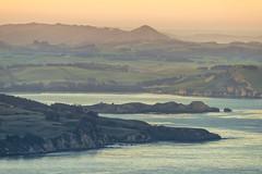 Sunset East Otago (Ian@NZFlickr) Tags: from sunset beach mt nz otago headland cargill waikouaiti karitane
