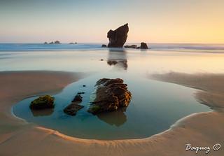 Aguilar beach sunrise