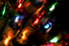 mini colour lights (vluc2) Tags: christmas xmas light red festive lights glow seasonal multicoloured glowing colourful minilights