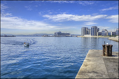 Harbour (David Gilson) Tags: pier dock nikon harbour jetty quay wharf gibraltar berth d7000