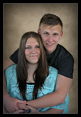 Embrace (Portrait Central) Tags: portrait hug couple teenagers siblings teen cuddle embrace
