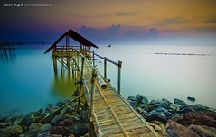 Tanjung (peyete | photography) Tags: sunrise indonesia nikon long exposure seascapes lee nd tanjung kait gnd banten d7000