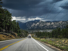 Road to Rocky Mountain (Danielle Bednarczyk) Tags: road park trip travel storm nature beautiful outdoors drive colorado natural roadtrip wanderlust adventure explore national co rockymountain exploration rockymountainnationalpark