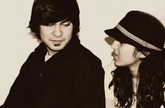 People (nyanizer) Tags: girls people india cute love boys hat photography kiss couple photoshoot delhi indian adorable fedora atal anukanksha
