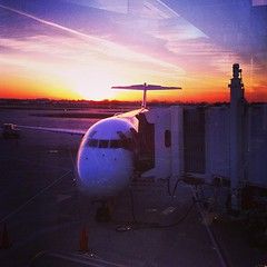 Good morning, Milwaukee! (pobrecito33) Tags: wisconsin sunrise square airplane flying flight jet lofi delta squareformat milwaukee wi airtravel iphone mke deltaairlines mitchellairport generalmitchellinternationalairport iphoneography instagram instagramapp uploaded:by=instagram