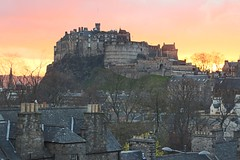 IMG_1436 (richard.keen) Tags: sunset castle edinburgh edinburghcastle