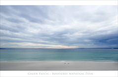 Green Patch Post Card (caralan393) Tags: green clouds coast soft gull patch jervisbay