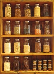 Spice Rack (venetiakelley) Tags: wood shelf spices