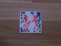 hellocatfood - H (hellocatfood) Tags: animation alphabet hamabeads hellocatfood