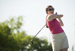 Kappa Psi golf fundraiser (jctang89) Tags: woman golf nikon swing clubs psi 28 kappa d800 70200mm