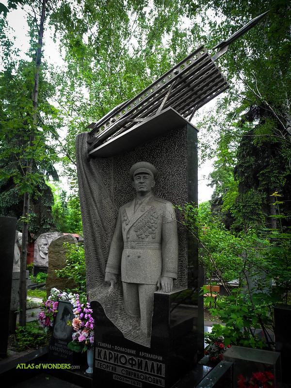 Cementerio Novodévichi