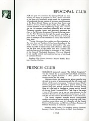 Episcopal Club and French Club (Hunter College Archives) Tags: students club 1936 french yearbook clubs hunter activities huntercollege studentorganizations frenchclub organizations studentactivities studentclubs wistarion studentlifestyles thewistarion episcopalclub