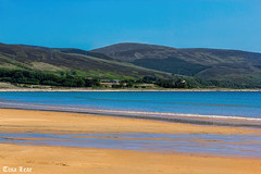 Beautiful Brora Beach (Tina Lear) Tags: sea mountains sunshine sand hills tina sutherland lear brorabeach