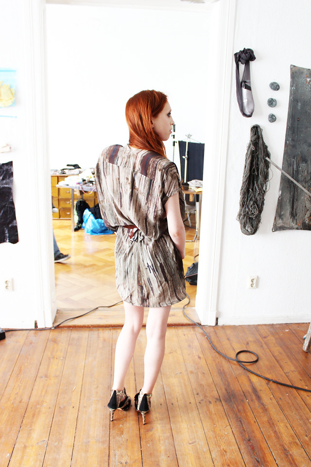 Der Katalog - JULIAHEUSE AW13/14 - Behind the scenes