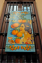 Poster - Valencia (Fuji X100S) (markdbaynham) Tags: street city urban valencia digital poster spain fuji x espana spanish depot metropolis oranges trans sensor x100s digitaldepotcouk
