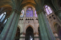 Reims cathedral interior