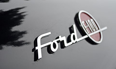 Ford (Brian K. Brown) Tags: ford emblem f100 newburyport