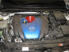 2012 Mazda Mazda3 with Skyactiv-G 2.0L I4 Engine Oil Change (paul79uf) Tags: 3 four diy do steps engine it 2nd drain size bolt cylinder oil second third change instructions motor inline how guide mazda torque yourself generation 3rd tutorial 2012 i4 mazda3 2014 20l 2013 skyactivg