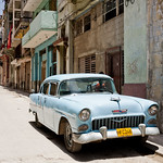 A 1955 Chevy in Old Havana thumbnail