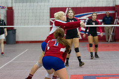Curtis vs Fontainebleau Volleyball 2013 (some NOLA) Tags: game sports ball louisiana highschool volley jcc harahan