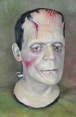 Daniel Horne Frankenstein 06 (toyranch) Tags: bride mask bust frankenstein boris fest karloff maskfest