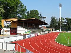 Sportplatz Birkenwiese, Dornbirn (poity_uk) Tags: austria stand dornbirn football sterreich stadium stadion voetbal grandstand calcio footballground vorarlberg fusball tribne fusballplatz birkenwiese fcdornbirn sportplatzbirkenwiese