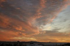Sunset skyplay (Bleller) Tags: sunset red nature beautiful clouds iceland amazing reykjavik stunning skyplay