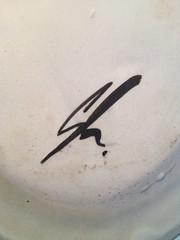 Mark - Painted Robert Gordon - Pack Track Pottery (chickpeaoz) Tags: mark robertgordon australianpottery australianstudiopottery packtrackpottery