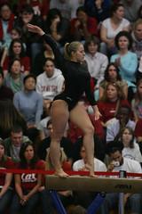 Pintchouk011308_02KT (ahtibat112) Tags: college university cardinal gymnastics stanford ncaa 20072008