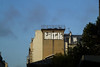 Tomek (lepublicnme) Tags: blue sky paris france rooftop graffiti october bleu ciel roller pal tomek 2013 palcrew