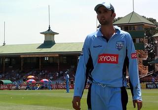 NSW Blues vs VIC Bushrangers, North Sydney Ova...