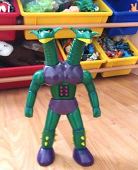 Kikaijyu Daburas M2 (kopponigen) Tags: bear boy two anime verde green project toy robot model dragon action head great cartoon figure z 16 m2 juguete mazinger medicom doublas daburas kikaijyu doubras dabouras