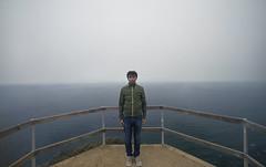George Gray (costa.federico) Tags: ocean california light sea portrait people cliff me self canon myself point photography eos coast san francisco wideangle 7d grandangolo reyes selfie photographyu