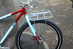 *SURLY* karate monkey complete bike (Blue Lug) Tags: mtb surly 29er karatemonkey cookpaintworks karate20131108