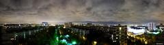 Чертаново Северное (alexey_bityukov) Tags: roof night moscow панорама ночь москва chertanovo крыша чертаново