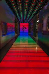 Beatles Love corridor in Belagio