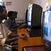 Bahirdar AIDS Resource Centre is always filled with youths using the internet, newspapers and fliers on HIV/AIDS