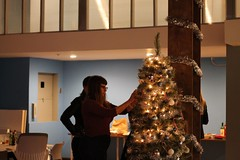 Holiday Party Tree Trimming