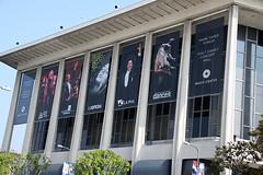 Museum, Dorothy Chandler Pavilion, Banner