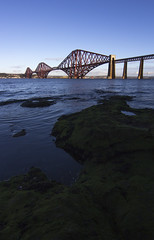 Forth Bridge (DerickCarss) Tags: road uk bridge winter scotland crossing fife south north bridges rail railway forth lothian firth firthofforth queensferry cantilever