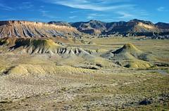 San Rafael Reef, UT 7774 (Petr Bednarik) Tags: blue cliff usa mountains green nature rock landscape landscapes utah spring desert hill scenic valley teepee mesa sanrafaelreef
