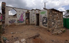 Da Future (Mr Baggins) Tags: streetart graffiti stencilart soweto kliptown ladyaiko